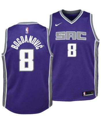 premium selection 28f8a c50bb Nike Bogdan Bogdanovic Sacramento Kings Icon Swingman Jersey ...