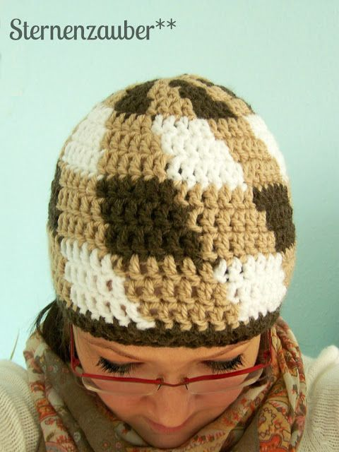 hat - free pattern (Deutsch) ~ x-posted | Hats | Pinterest ...