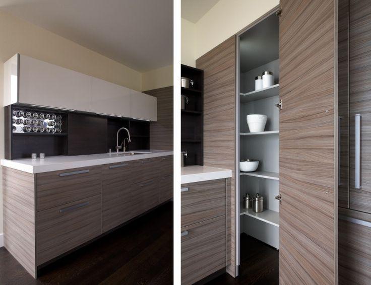 Ordinaire Contemporary Corner Kitchen Pantry