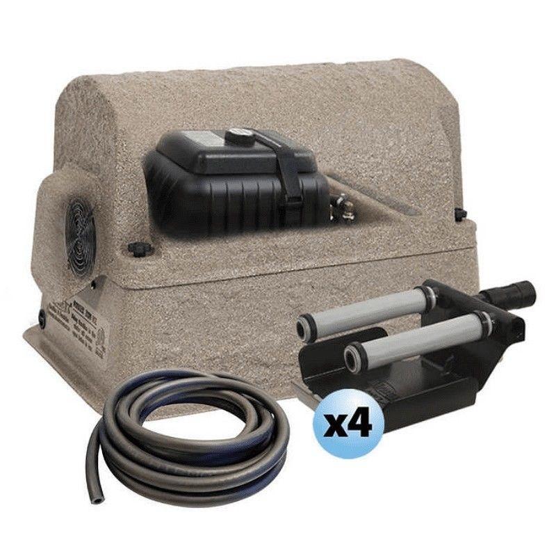 Airmax sw40 shallow water pond aerator system pondaerator