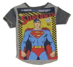 Vintage Superman Dog T Shirt size small. One of a kind. $36.00