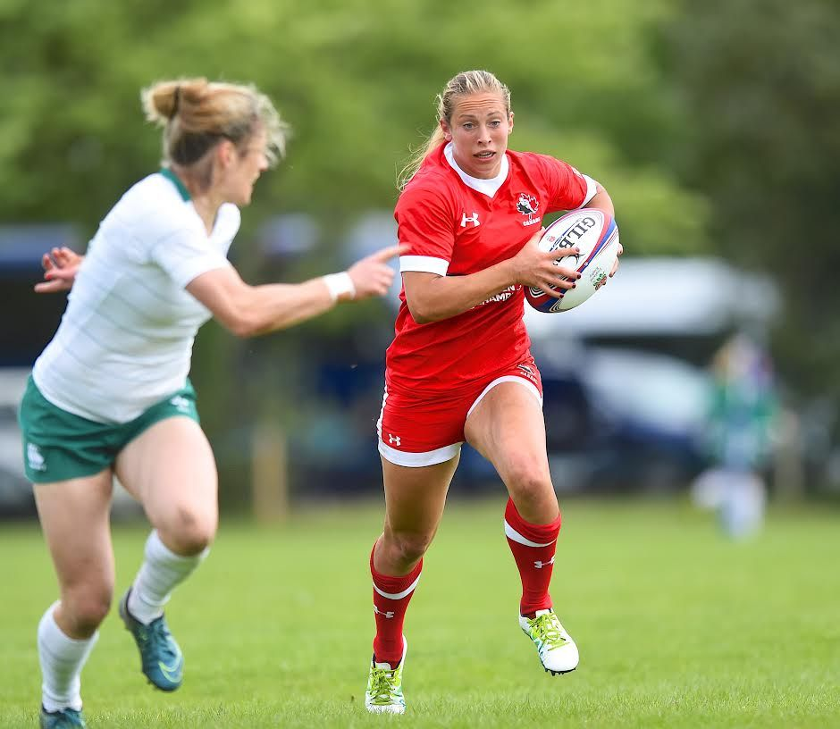 Emphatic 48 7 Victory For Canada Over Ireland In Dublin Isn Teams Victorious Dublin