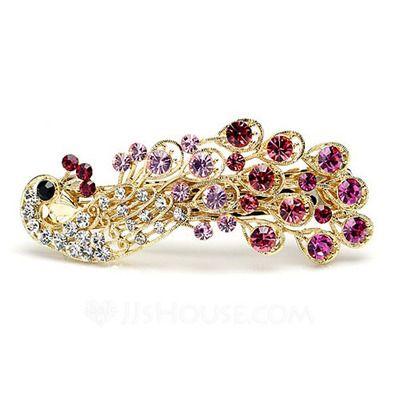 Jewelry - $11.99 - Charming Alloy/Rhinestones Women's Hair Jewelry (011040075) http://jjshouse.com/Charming-Alloy-Rhinestones-Women-S-Hair-Jewelry-011040075-g40075