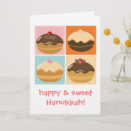 Happy Hanukkah Holiday Card    Happy Hanukkah Holiday Card - tap/click to get yours right now!