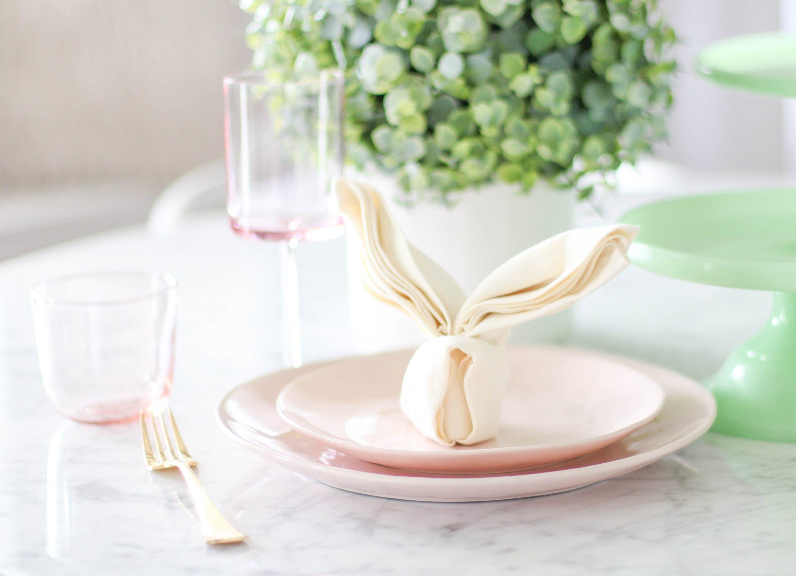 99 idées créatives: pliage de serviette de Pâques étape par étape - Déco de fête, Pâques - ZENIDEES
