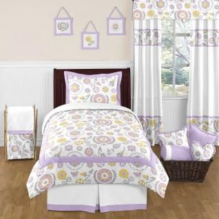 The Suzanna Twin Set Includes Twin Comforter Pillow Sham Bed