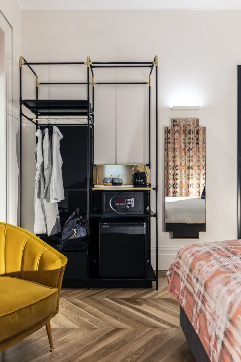 Hotel Guest Room Design: The Little Albion Guest House In Australia Combines Two