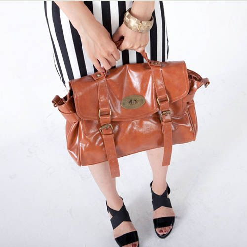 Chika - Ladies fashion brown shoulder #handbags $70.00 - Out of stock