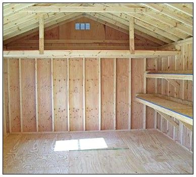 Tuff shed storage sheds shelving ideas projects for Garden shed floor ideas