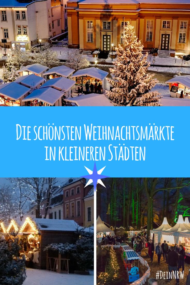 Weihnachtsmärkte in kleineren Städten 2019