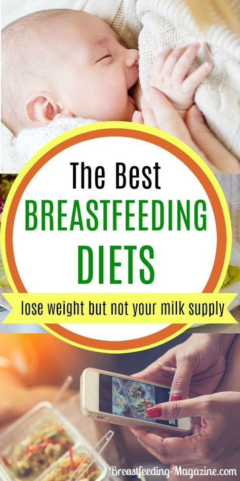 The Best Breastfeeding Diet Options For Losing Weight -9705