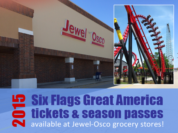 2019 Six Flags Tickets At Jewel Osco Great America Great America Six Flags America