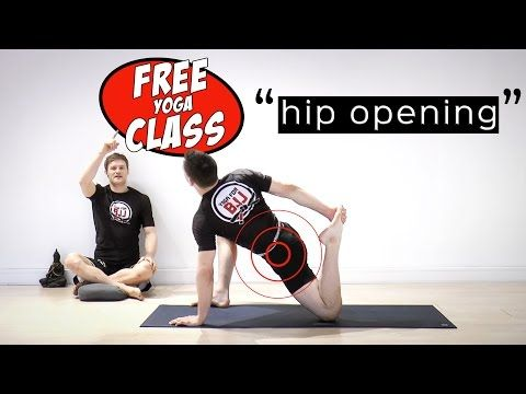 yoga for bjj  free class video 2 hip opening stretching