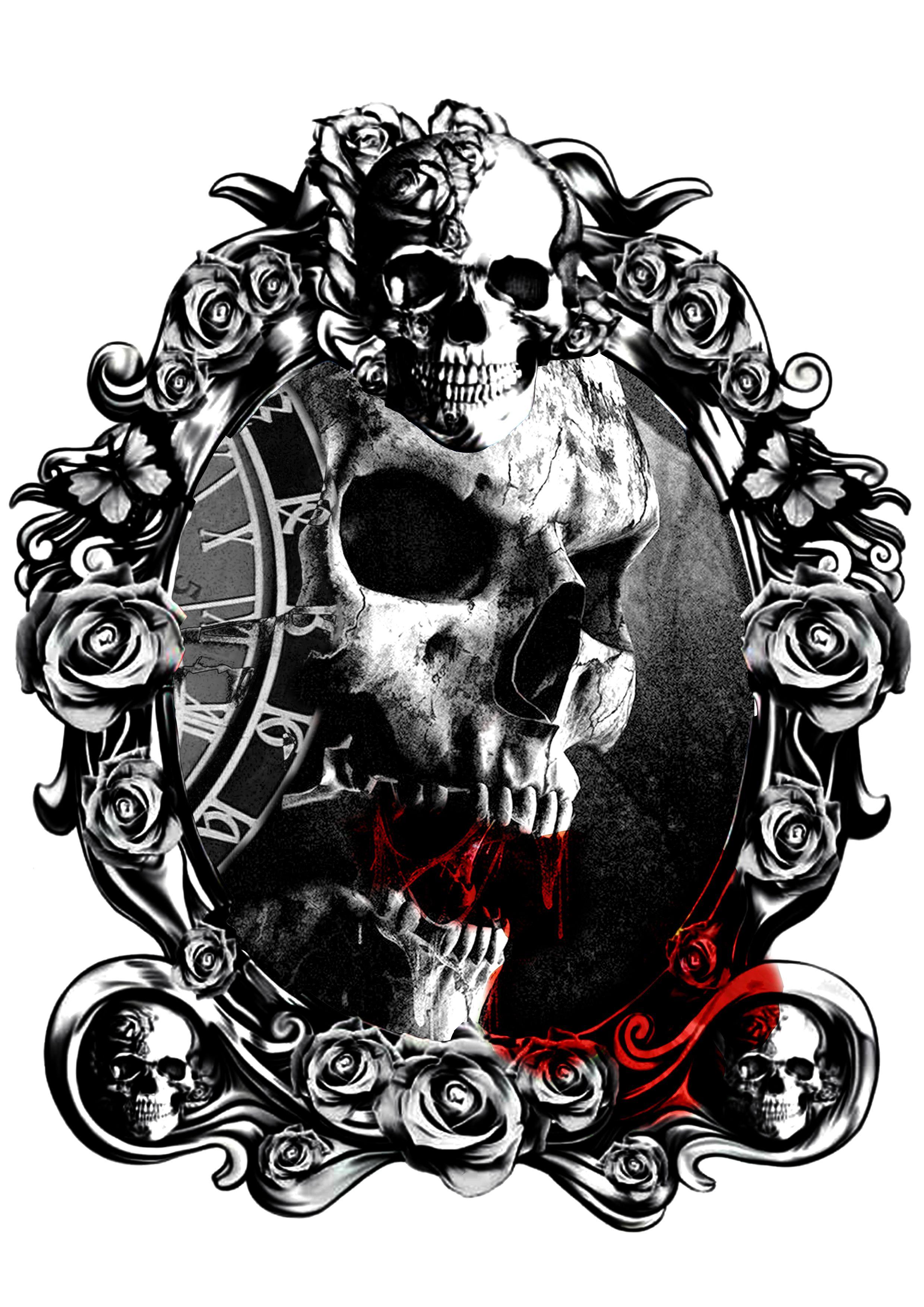 Diamond Skull Wallpaper Skull Art Drawing Skull Artwork