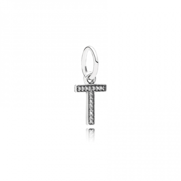 Letter T Initial Charm