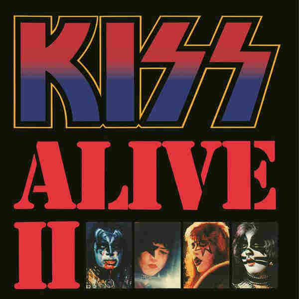 Alive Ii 1977 Kiss Album Covers Rock Album Covers Detroit Rock City