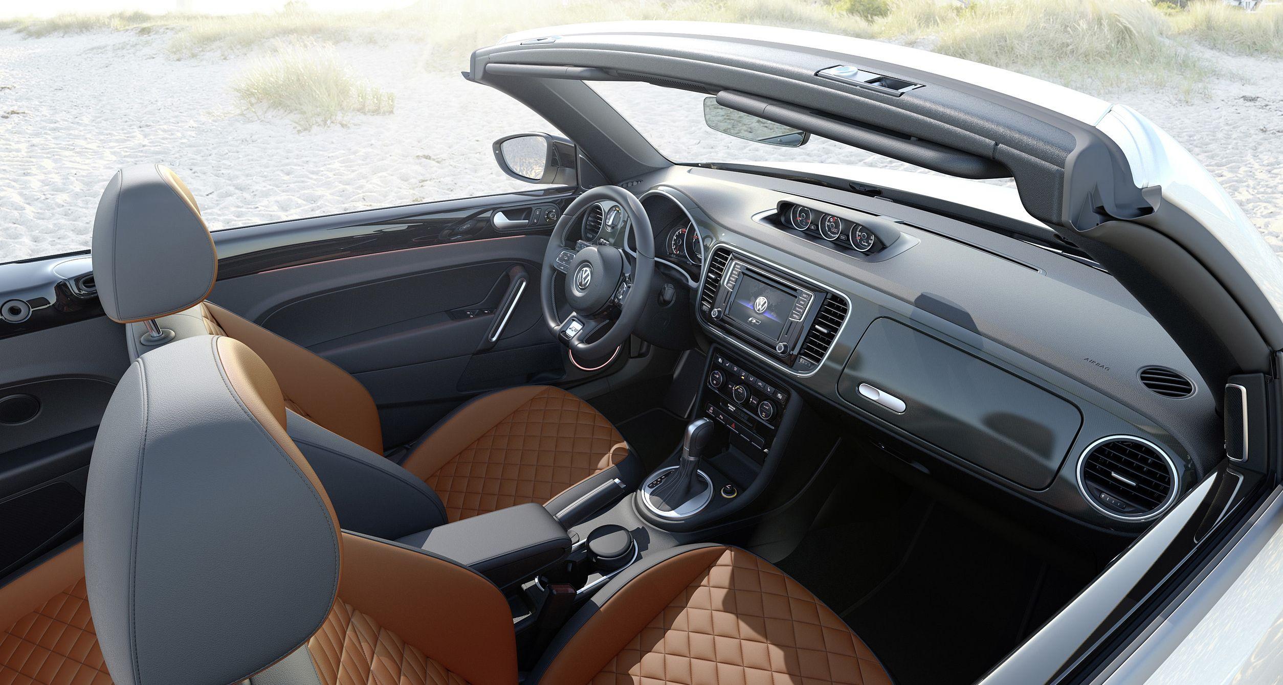 Volkswagen nouvelle coccinelle intérieur
