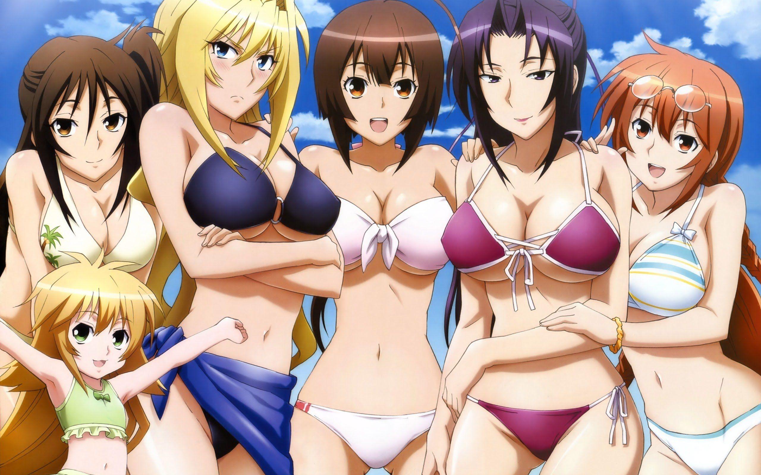 TOP Animes Ecchi , Comédia , Romance , Drama , Ficção , fantasia ...