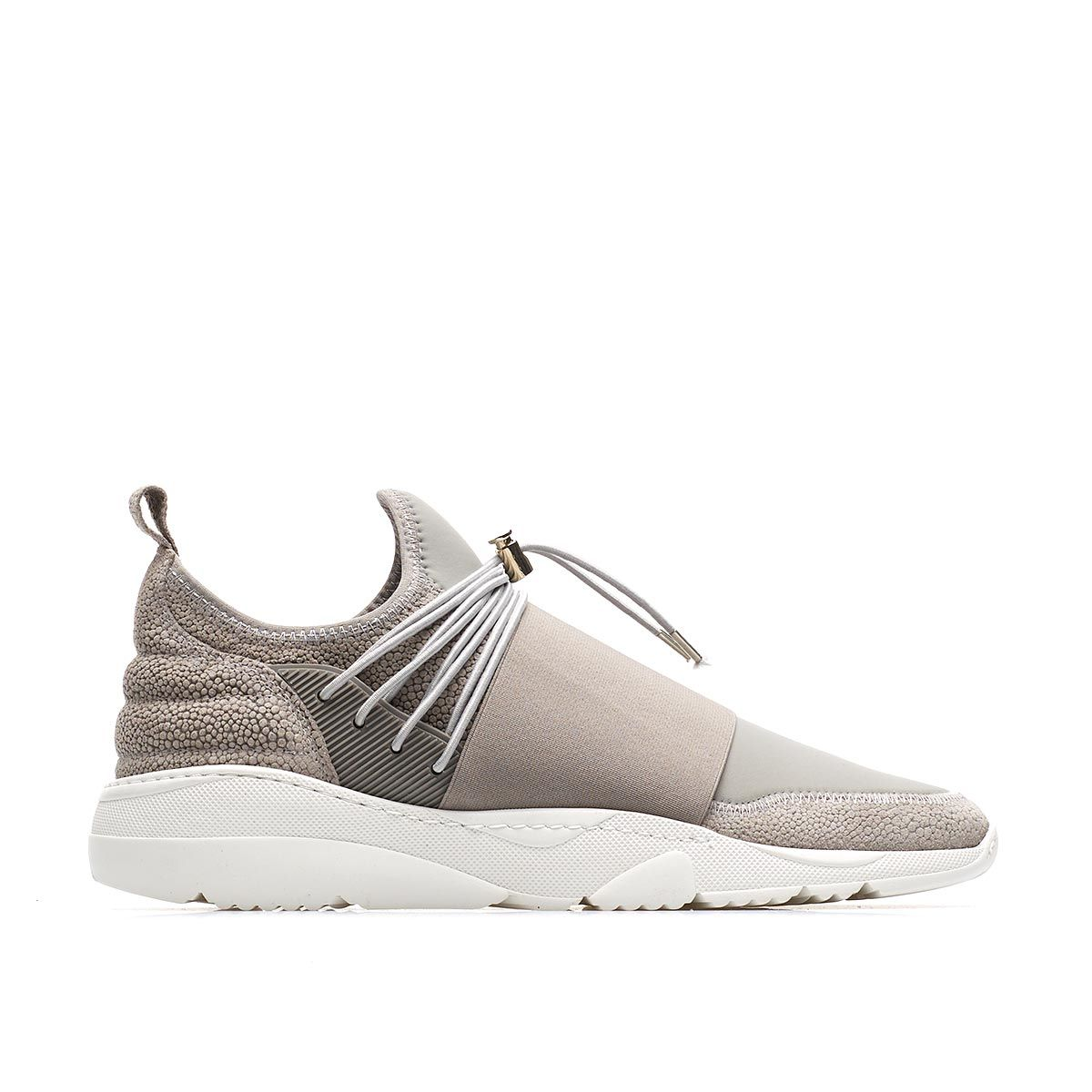31b54bdb93644 Filling pieces Runner 3.0 Low Neopene Sneakers in Gray