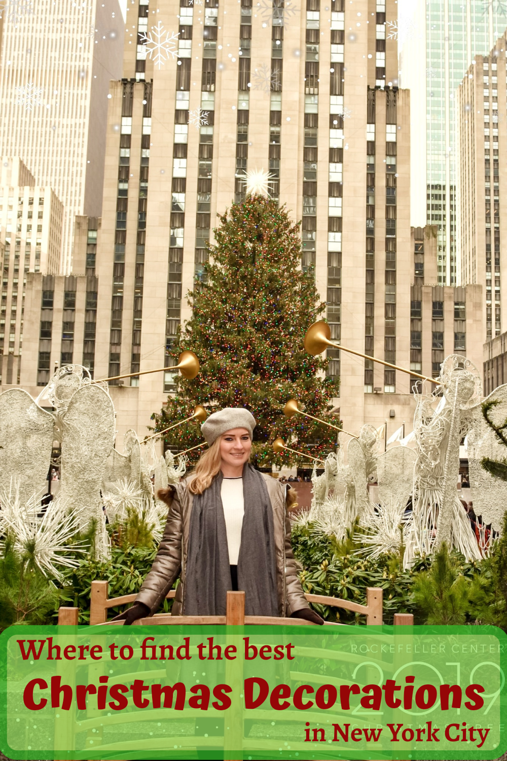 Rockefeller Center Christmas Tree 2020 Map Where to find the best Christmas Decorations in New York City