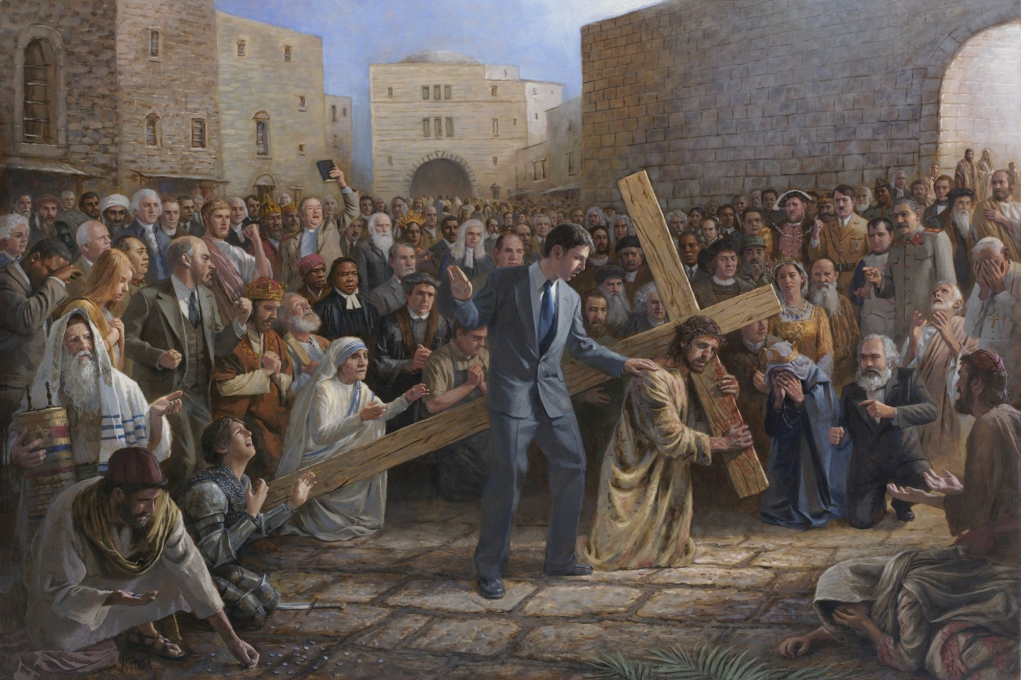 Jon Mcnaughton Dolorosa Jesus