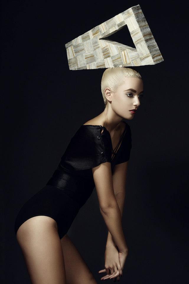 geometric avant garde hairspiration