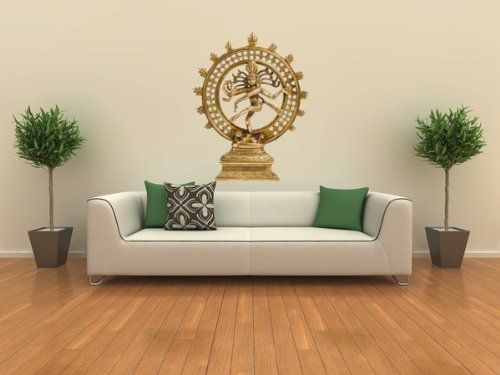 Wall Tattoo Wall Sticker Clock Retro Spiral Wall Sticker Living Room Hallway