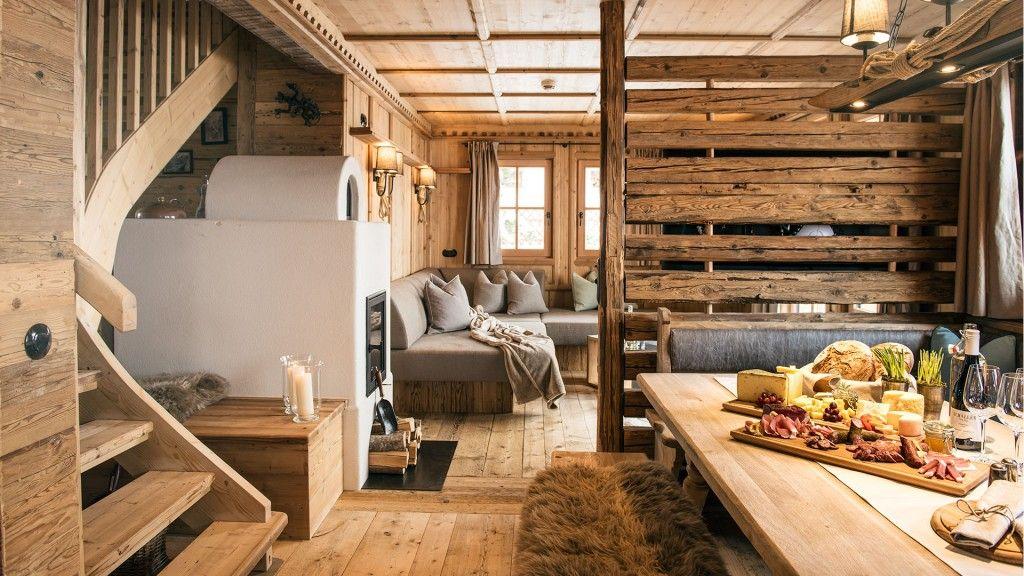 das chalet wilderer auf der sporer alm ideales chalet f r 4 8 personen bestehend aus erd und. Black Bedroom Furniture Sets. Home Design Ideas