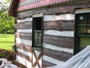 Log Cabin or Log Home Repair and Restoration |Photos