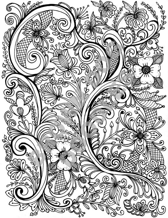 Rosemaling Coloring Page Products Rosemaling Pattern Color
