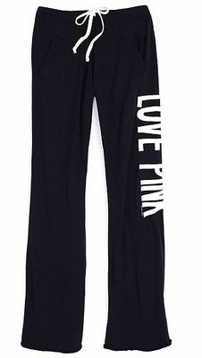 Activewear Bottoms Inventive Victorias Secret Pink Womens Jogging Sweat Pants Size M