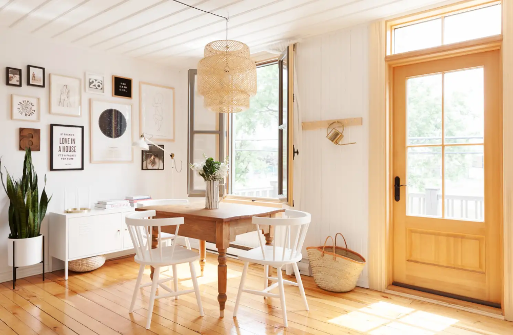 A Minimal, Scandinavian-Inspired Studio Is Especially Serene