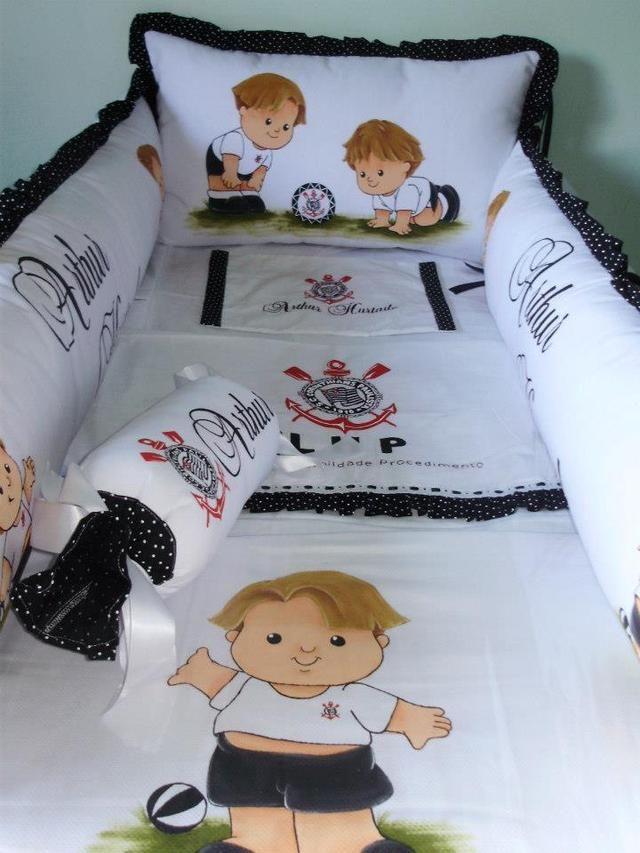 43a6ac379b decoração de quarto de bebe corinthians