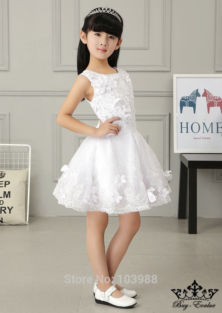 Click to buy free shippin a line flower girl dresses o neck beads cheap dress gentleman buy quality dresses girl directly from china dress collar suppliers free shippin a line flower girl dresses o neck beads crystal izmirmasajfo