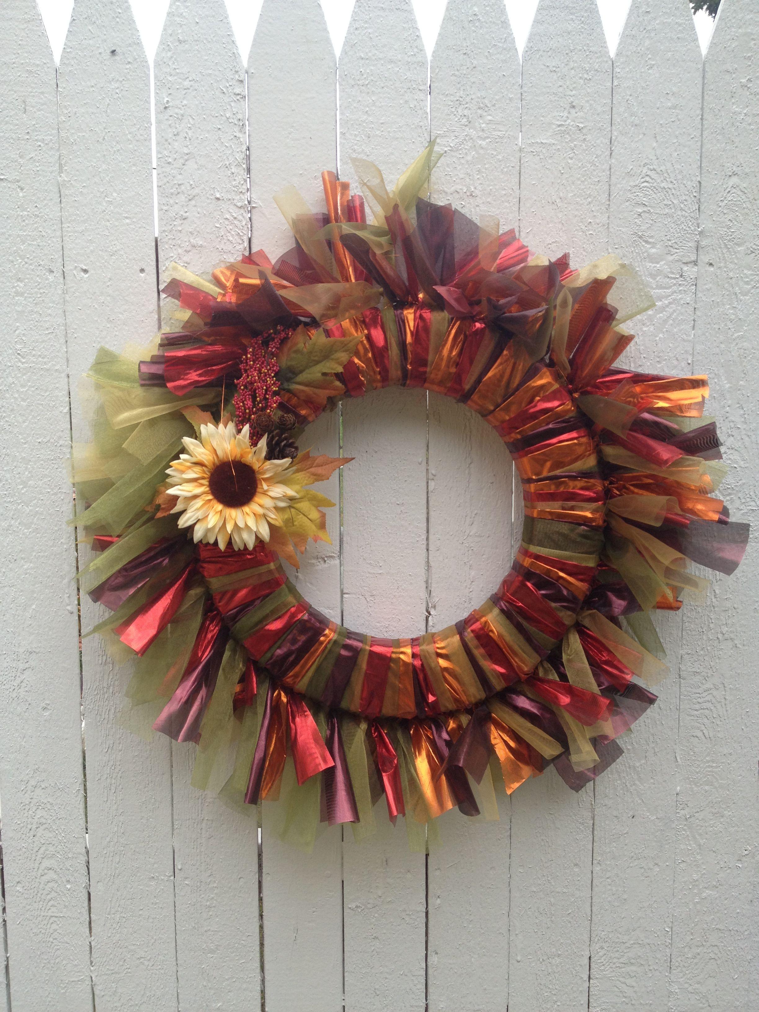Pinterest Crafts Fall Wreaths Wreath