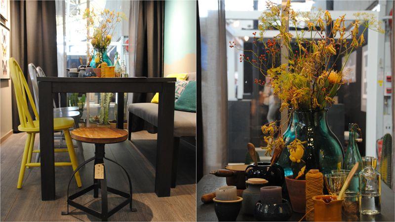 Interieur Herfst Inspiratie : Woonbeurs karwei herfst herfstkleuren geel oranje