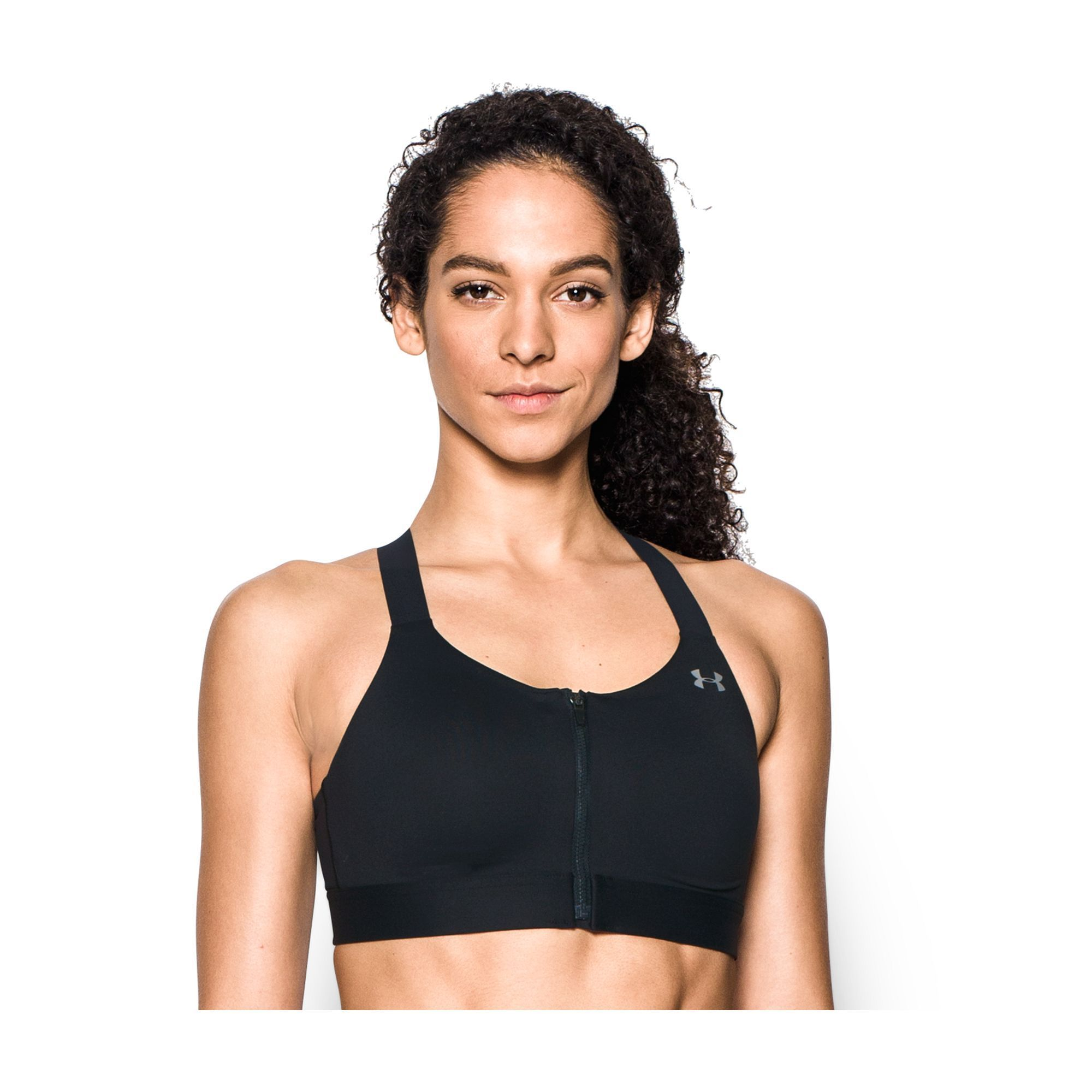 ab3ad66f57 Under Armour Bras  Armour Eclipse Zip Front High-Impact Sports Bra 1293829