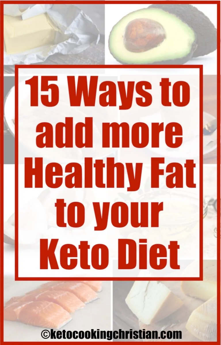 how to add more fat to diet