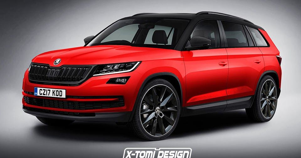 all new skoda kodiaq gets a virtual monte carlo makeover. Black Bedroom Furniture Sets. Home Design Ideas