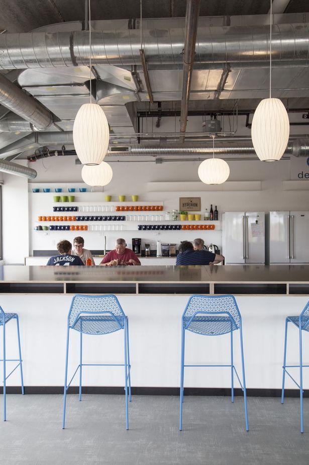 Deepfield Tech Office Workplace Interiors Nelson