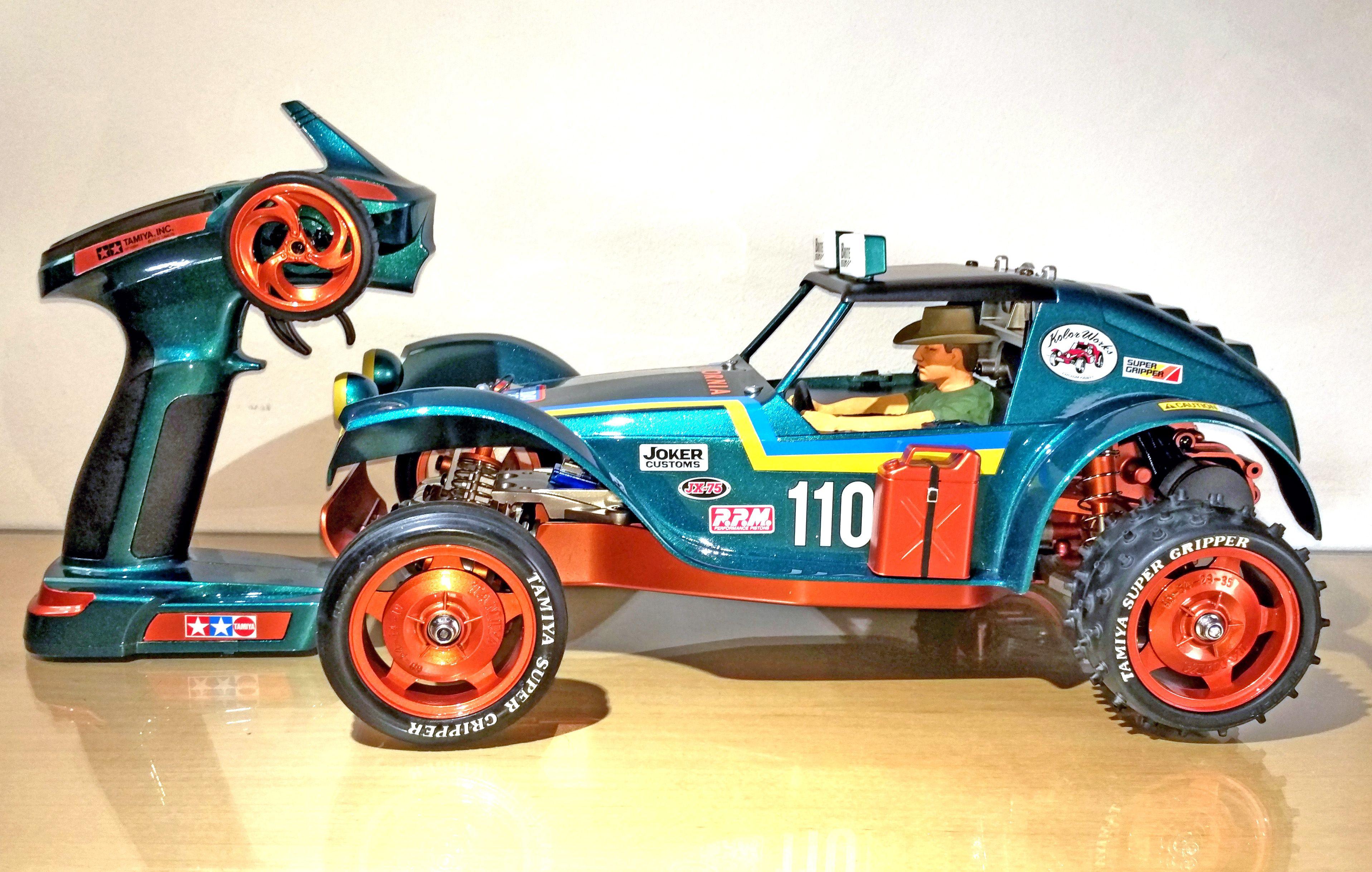 Custom Painted Tamiya Holiday Buggy Rc Cars Buggy Cars