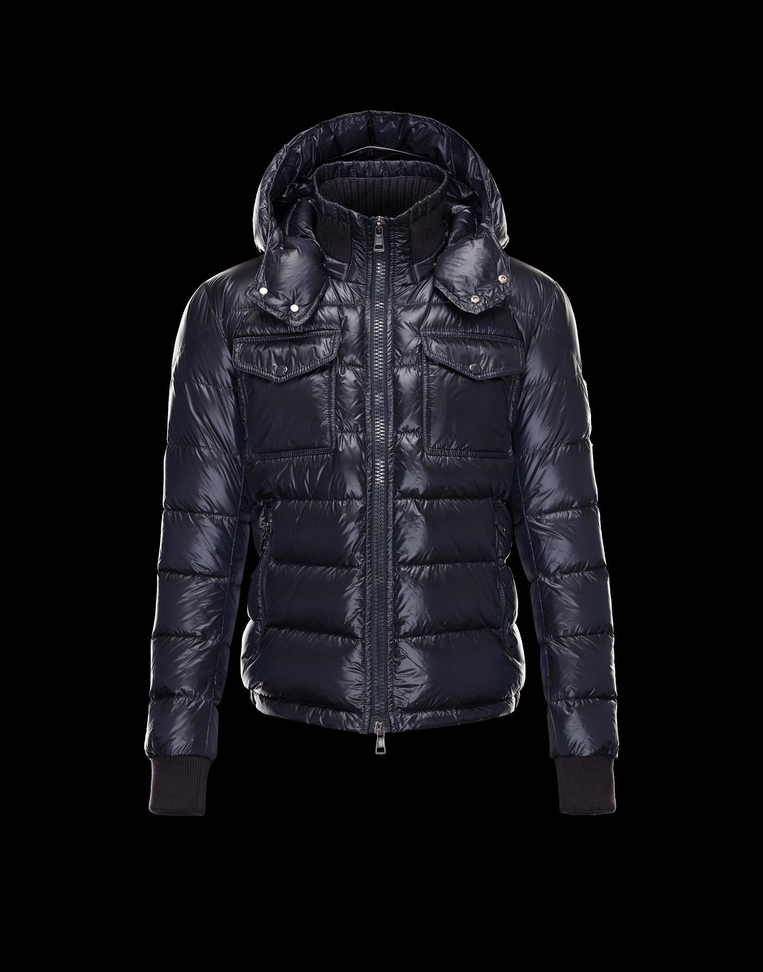Moncler FEDOR Featured Down Jackets Mens Blue #winter #blue #jackets