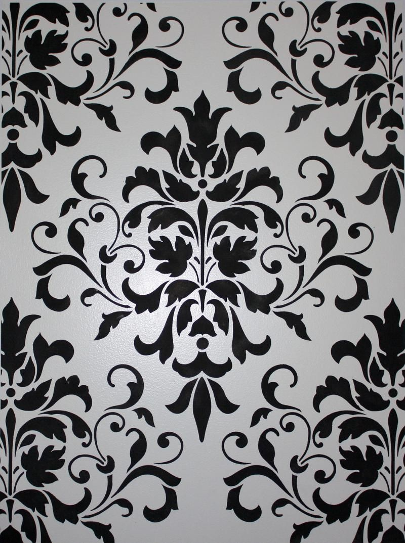 Damansk wall stencils about the damask pattern classic fauxs damansk wall stencils about the damask pattern classic fauxs finishes amipublicfo Image collections