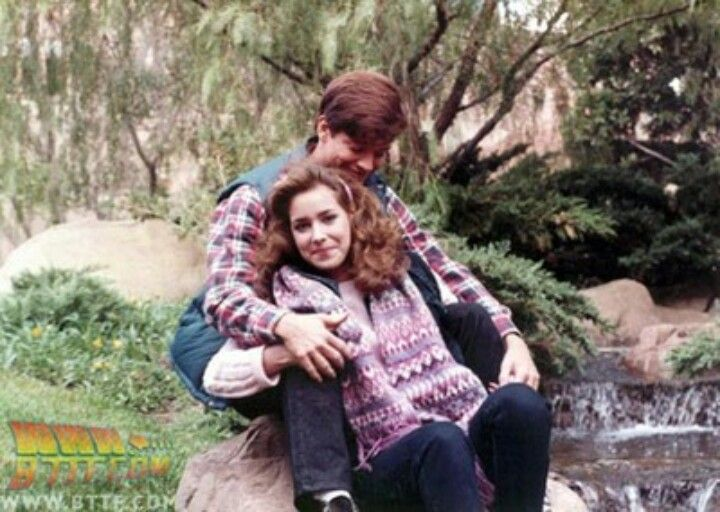 Eric Stoltz And Melora Hardin The Original Marty Mcfly And