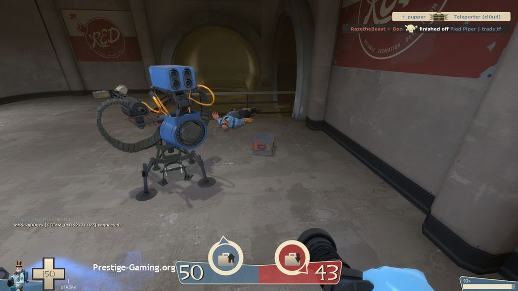 i helped a spooky ghost kill this engie's teleporter #games #teamfortress2 #steam #tf2 #SteamNewRelease #gaming #Valve