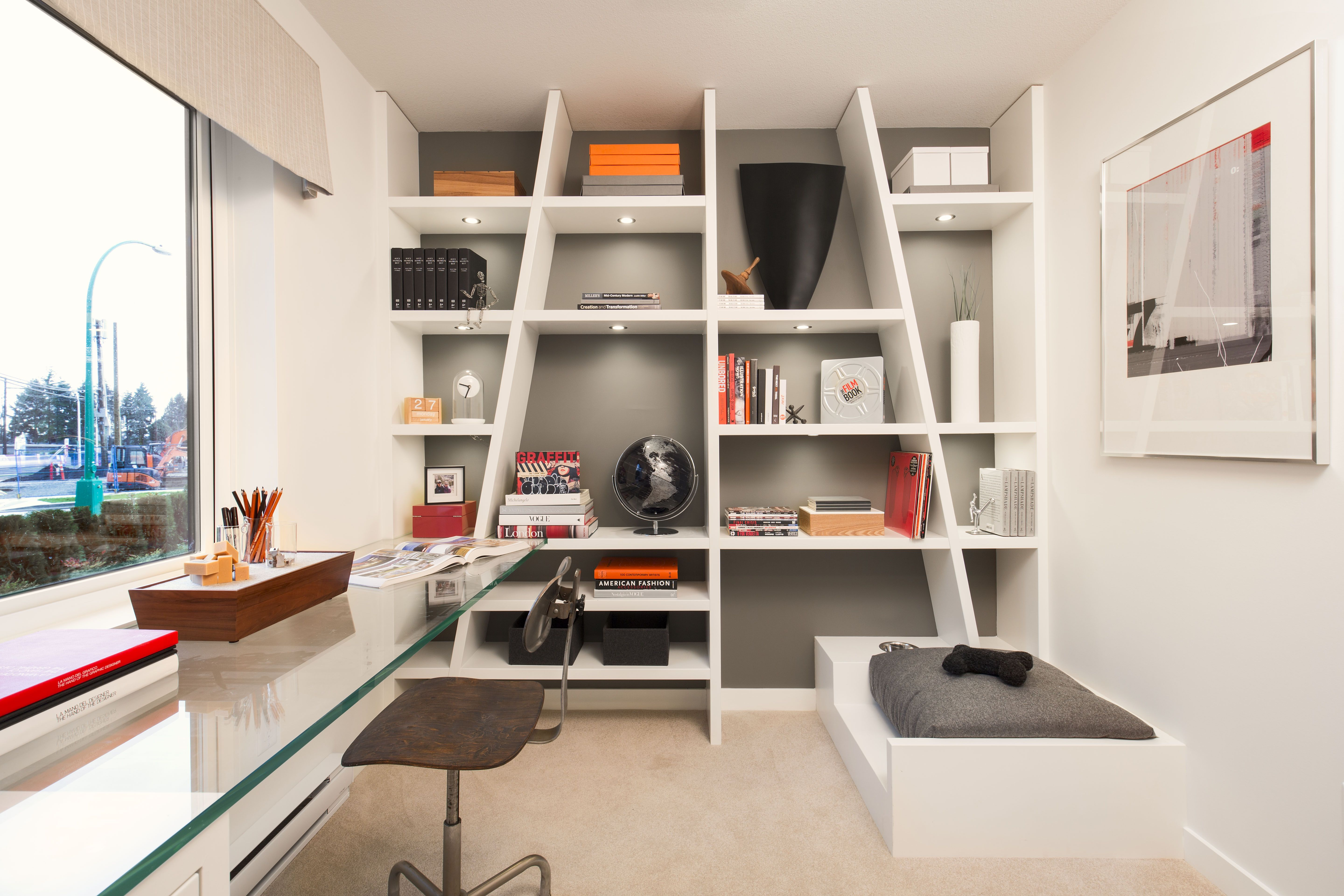 CLAYTON den • Multi-purpose room • Perfect for home office or flex ...
