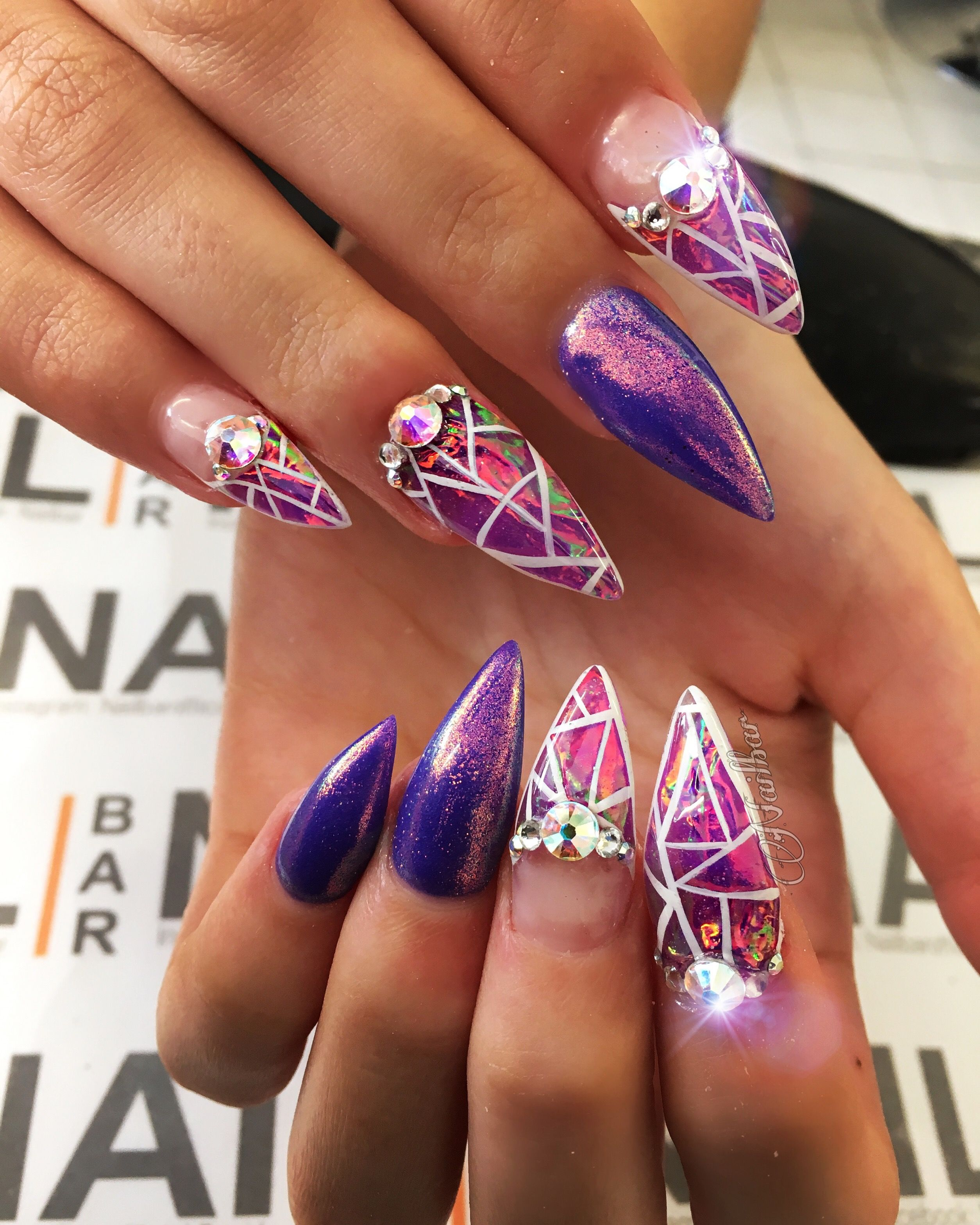 Pin by Shahidah Phillips on nail designs | Pinterest | Unicorn nails ...