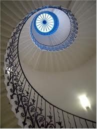 the tulip staircase - palace of greenwich