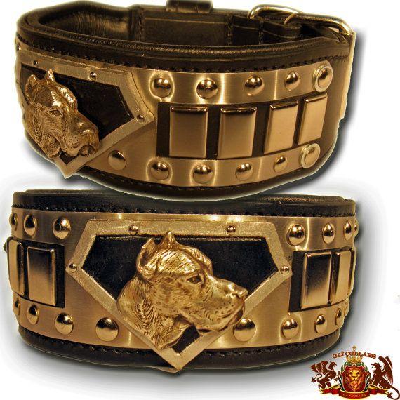 Breed Specific Superman Collar Cane Corso Luxury Dog Collars