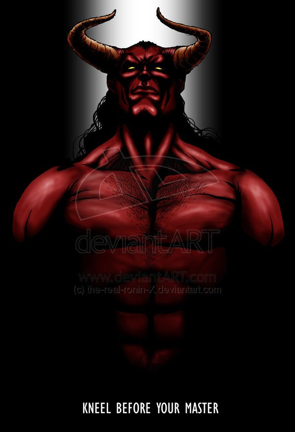 Satan+by+the-real-ronin-X.deviantart.com+on+@deviantART | Devils ...